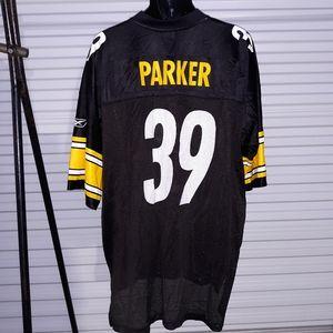 Vintage Reebok Steelers Parker Jersey size XXL